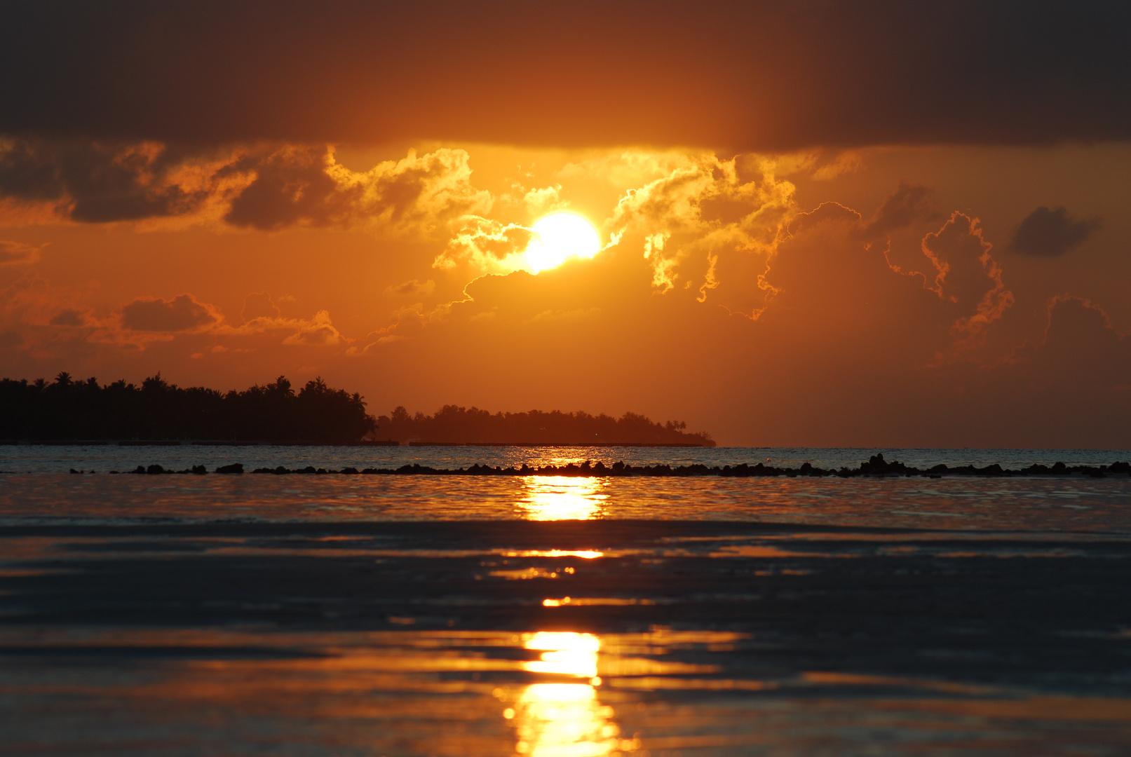 Sonnenuntergang Malediven 01/2011