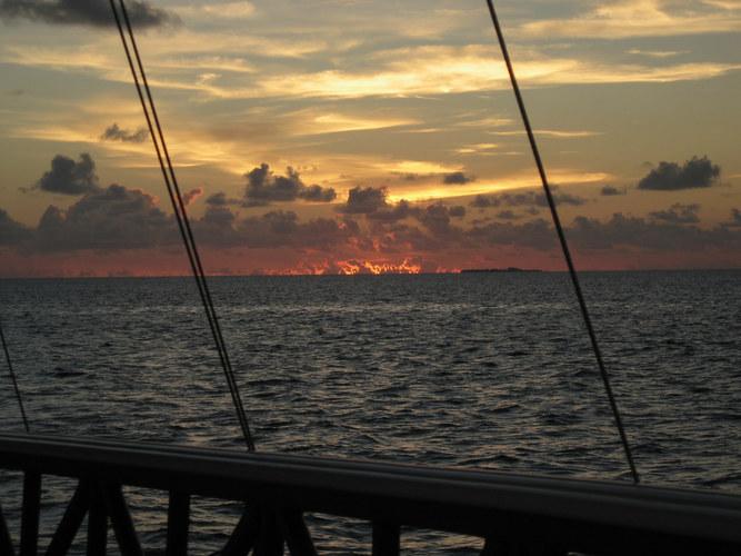 Sonnenuntergang 'Malediven'