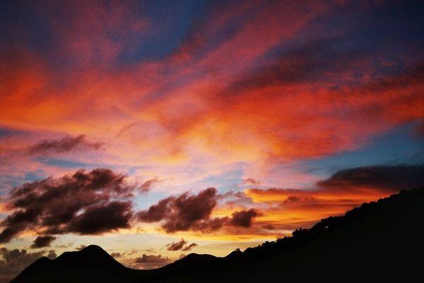 Sonnenuntergang Martinique