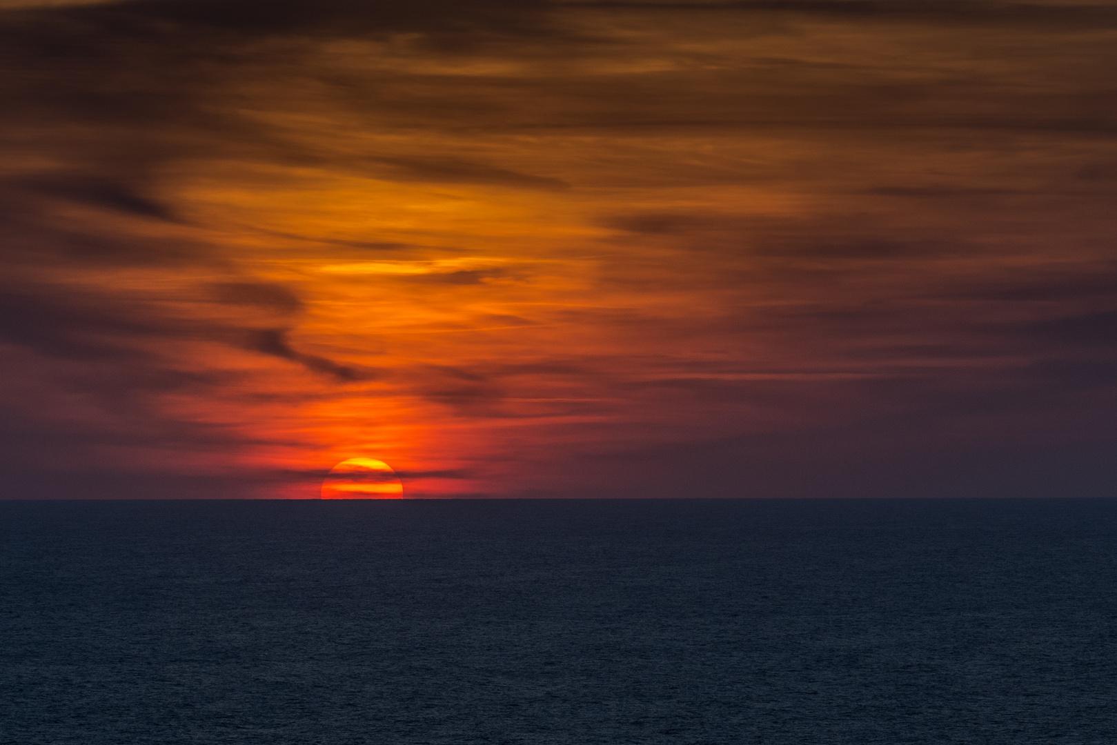 Sonnenuntergang Menorca Nord 2013_08
