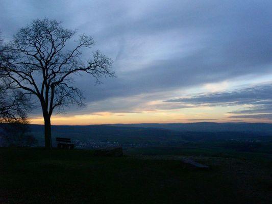 Sonnenuntergang Mensfelderkopf