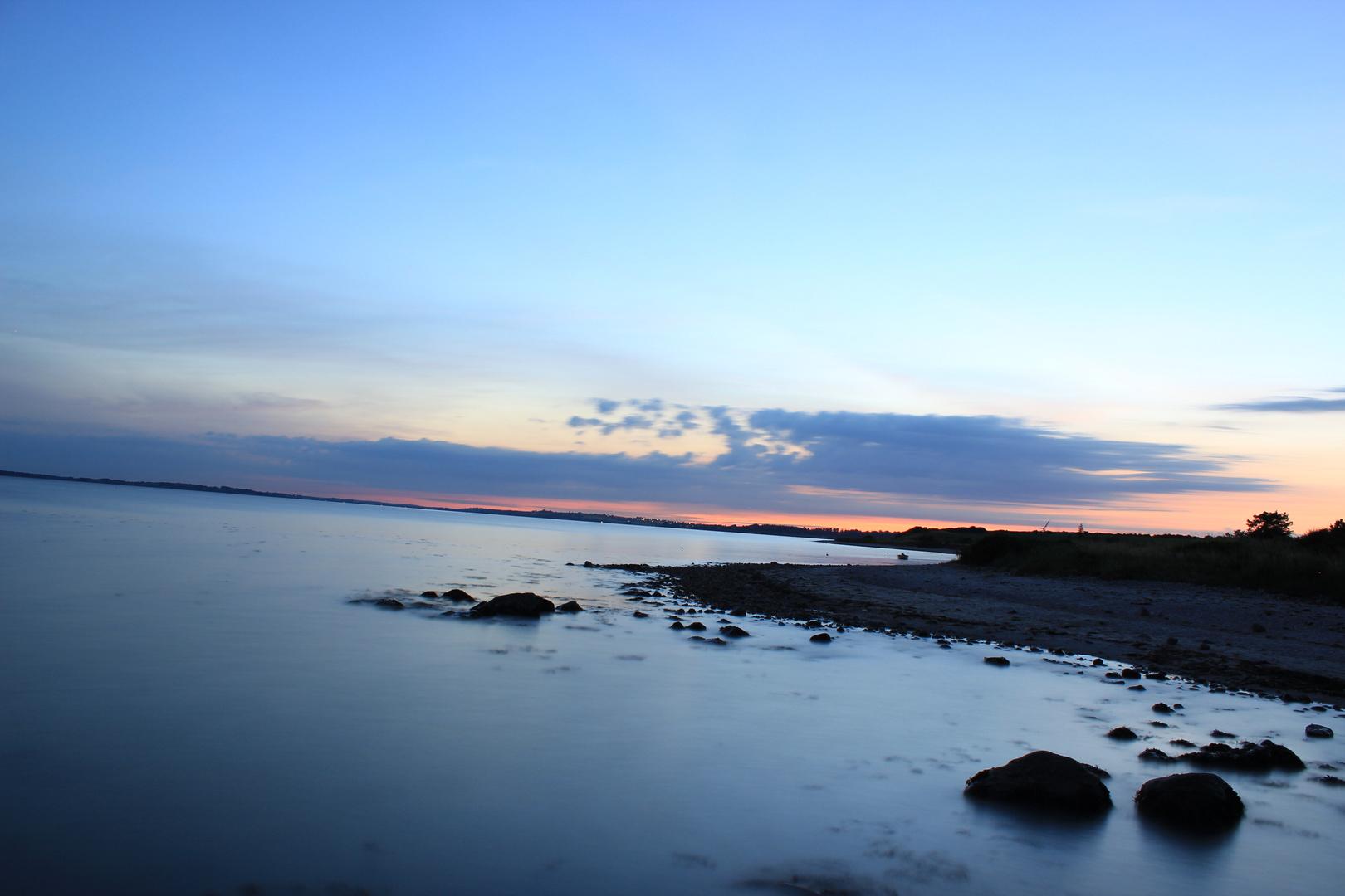 Sonnenuntergang mit ND Filter