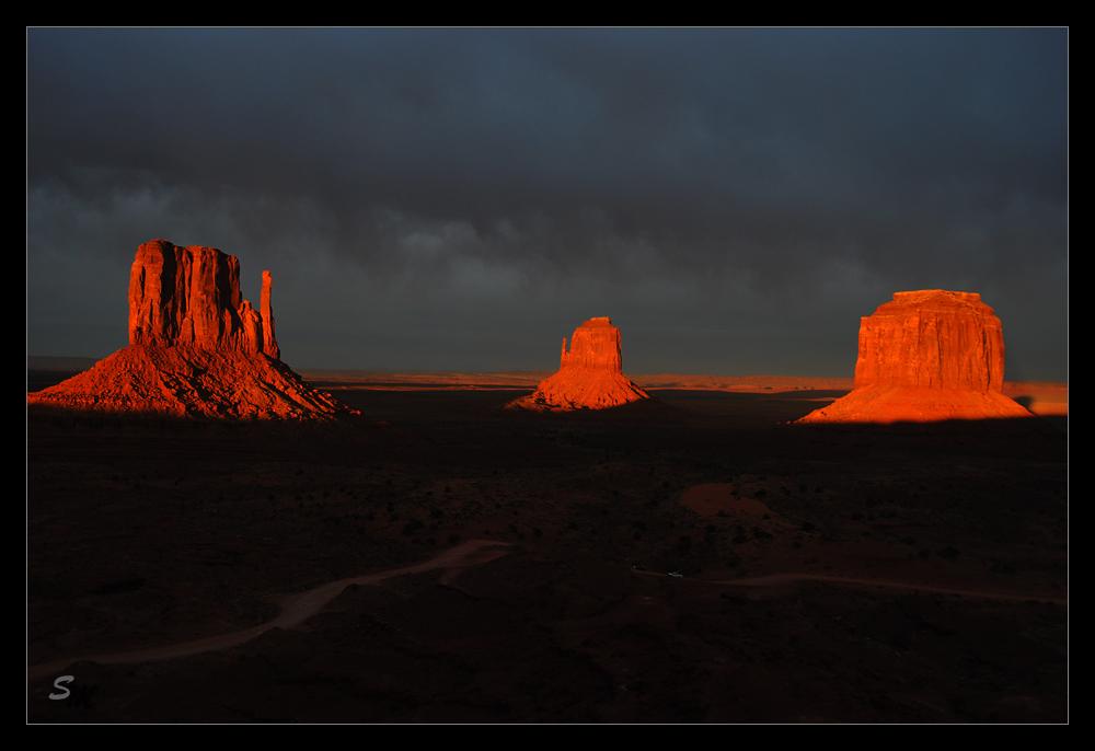 Sonnenuntergang Monument Valley 2