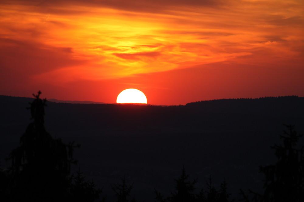 Sonnenuntergang Nähe FB