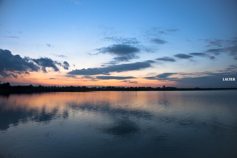 Sonnenuntergang Neben Erding