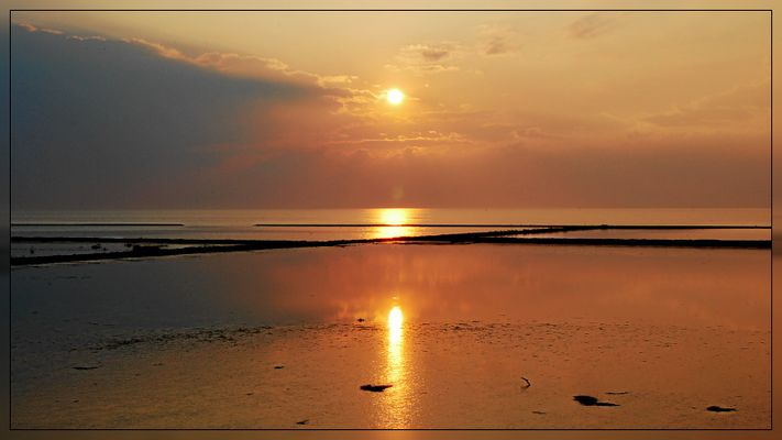 Sonnenuntergang Norddeich