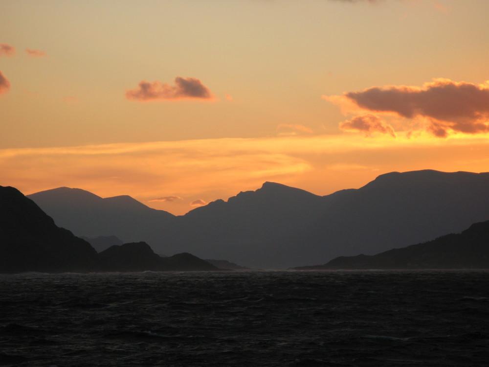 Sonnenuntergang Norwegen