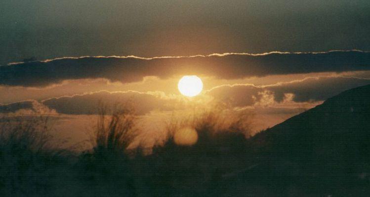 Sonnenuntergang NZ