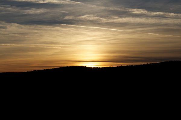 Sonnenuntergang Ochtersum 1