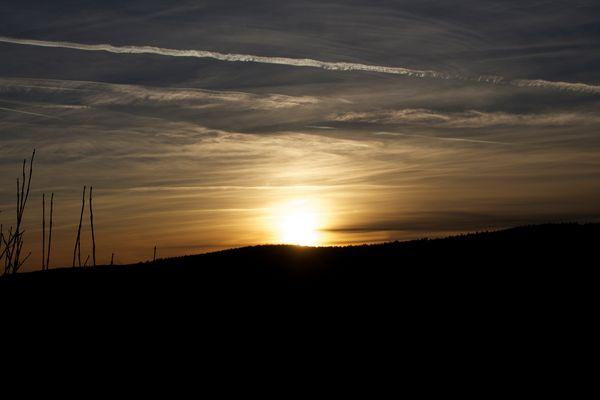 Sonnenuntergang Ochtersum,