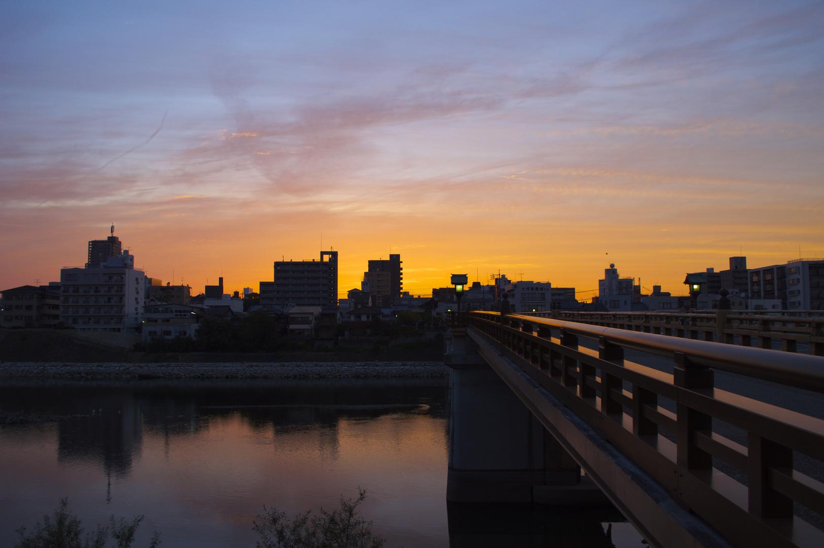 Sonnenuntergang - Okayama