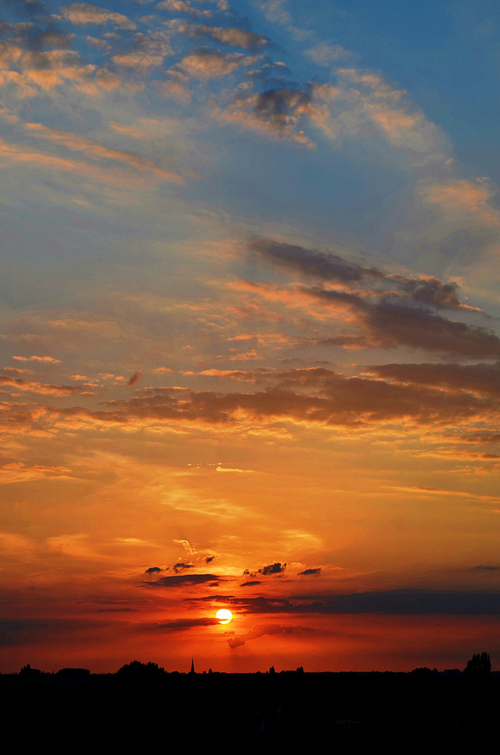 Sonnenuntergang Oldenburg