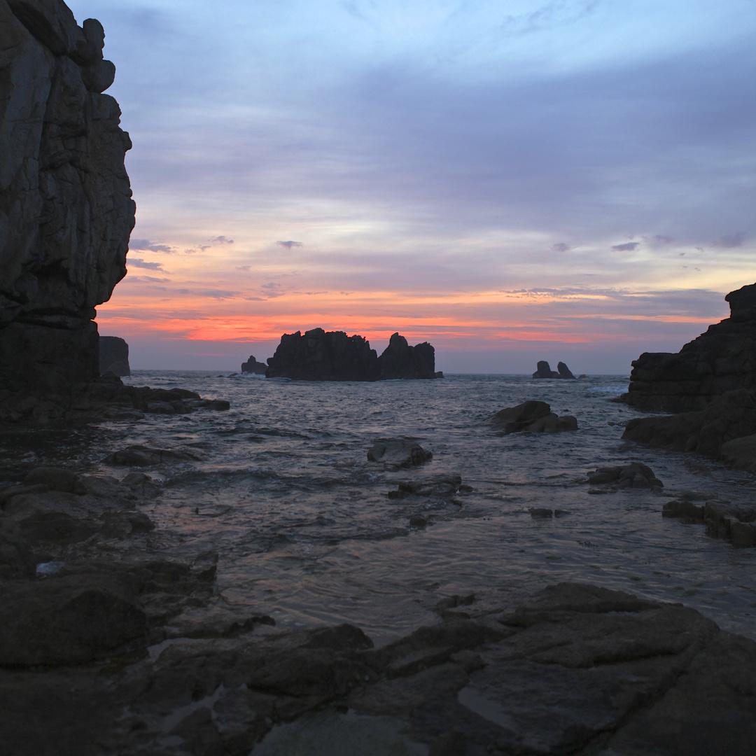 Sonnenuntergang - Ouessant