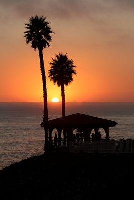 Sonnenuntergang - Pismo Beach, Kalifornien