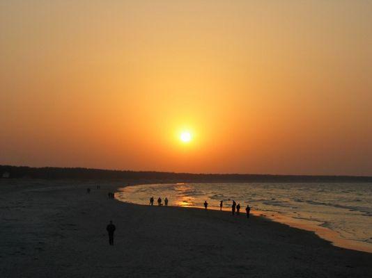 Sonnenuntergang Prerow