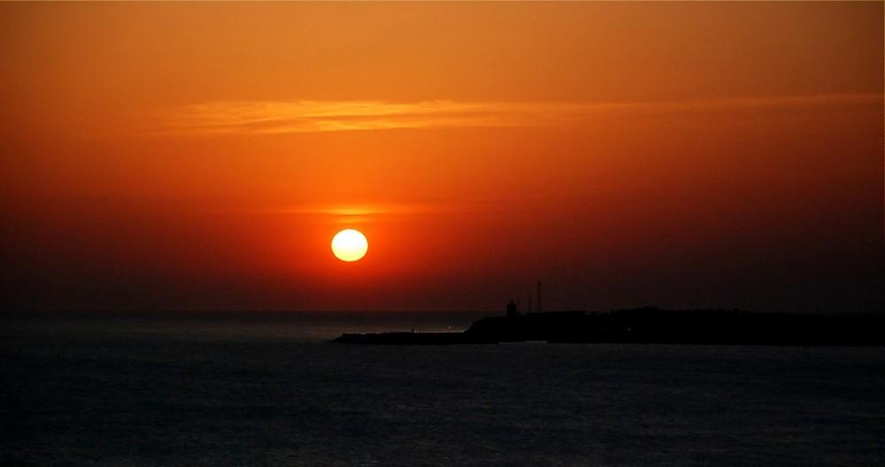 Sonnenuntergang Puerto Conil