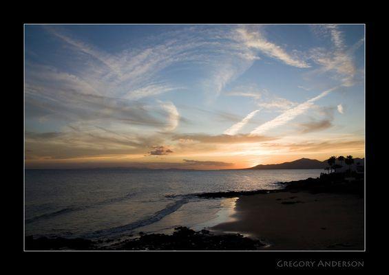 Sonnenuntergang - Puerto del Carmen - Lanzarote