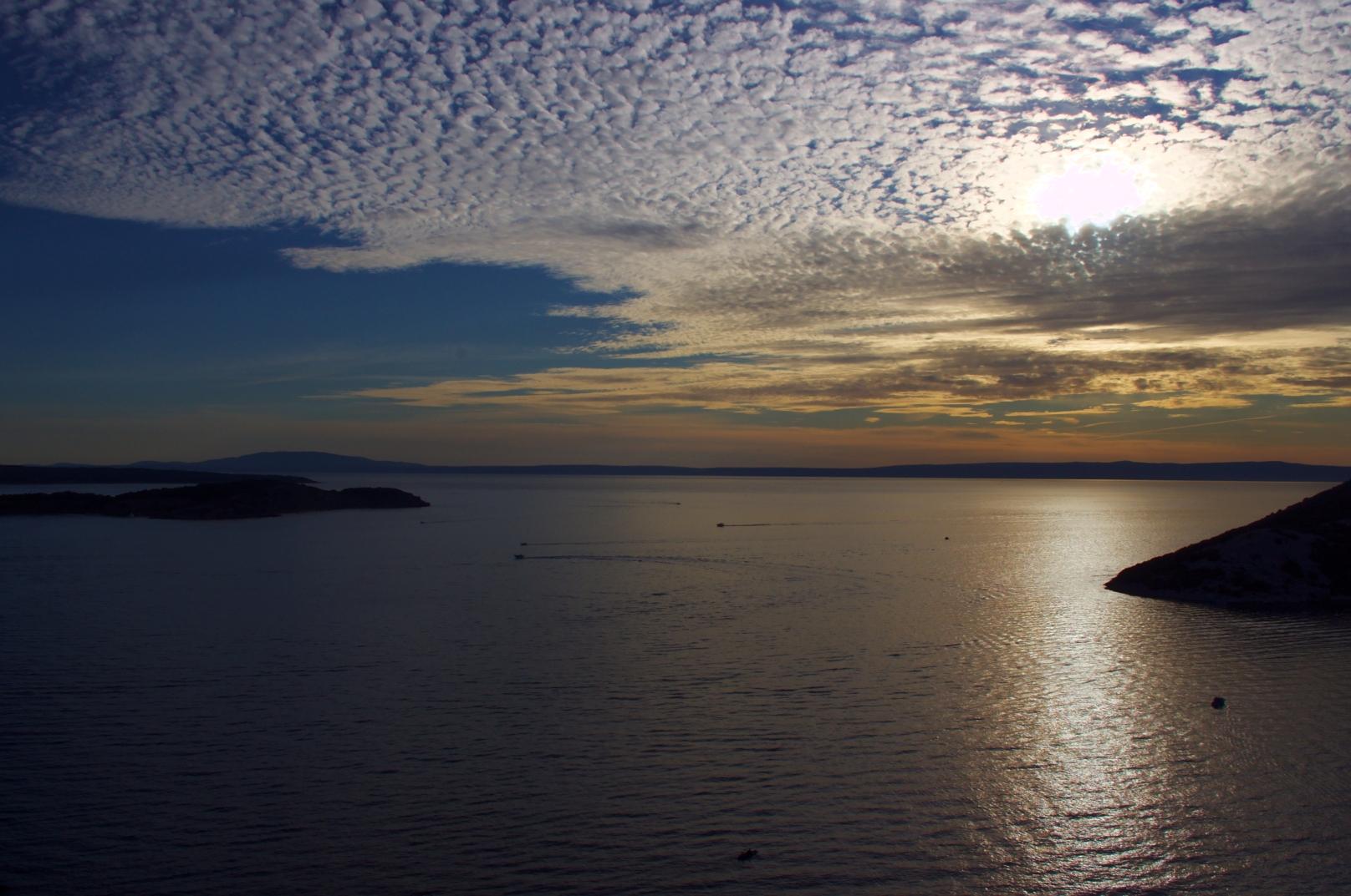 Sonnenuntergang Rab, Kroatien