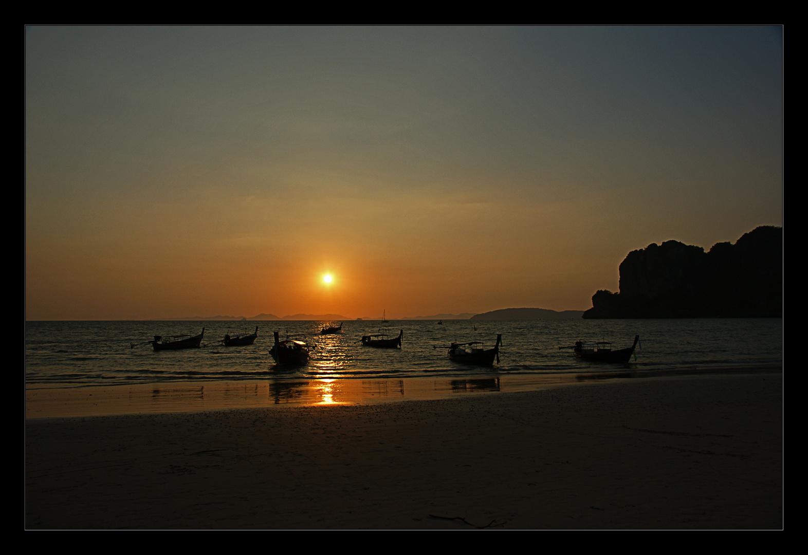 Sonnenuntergang Railey