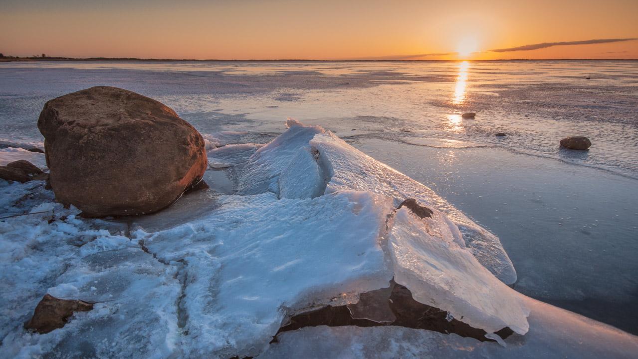 Sonnenuntergang Ringkøbingfjord
