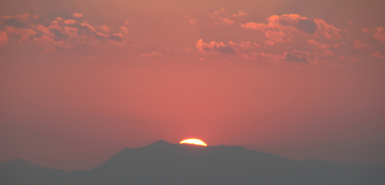 Sonnenuntergang Rossano,Kalabrien