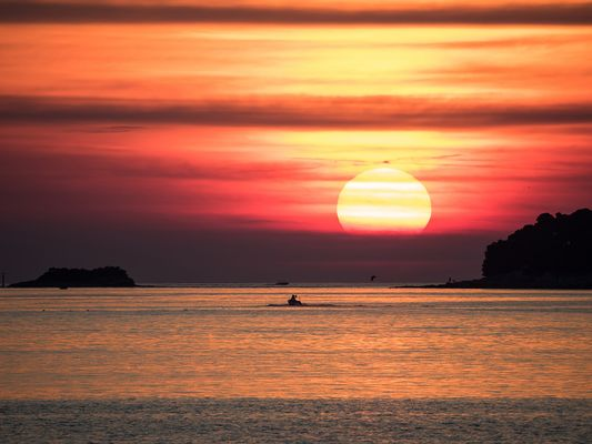 Sonnenuntergang Rovinj