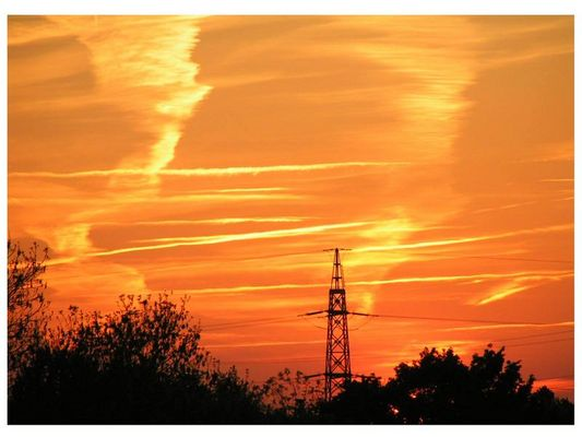 Sonnenuntergang Ruhrgebiet