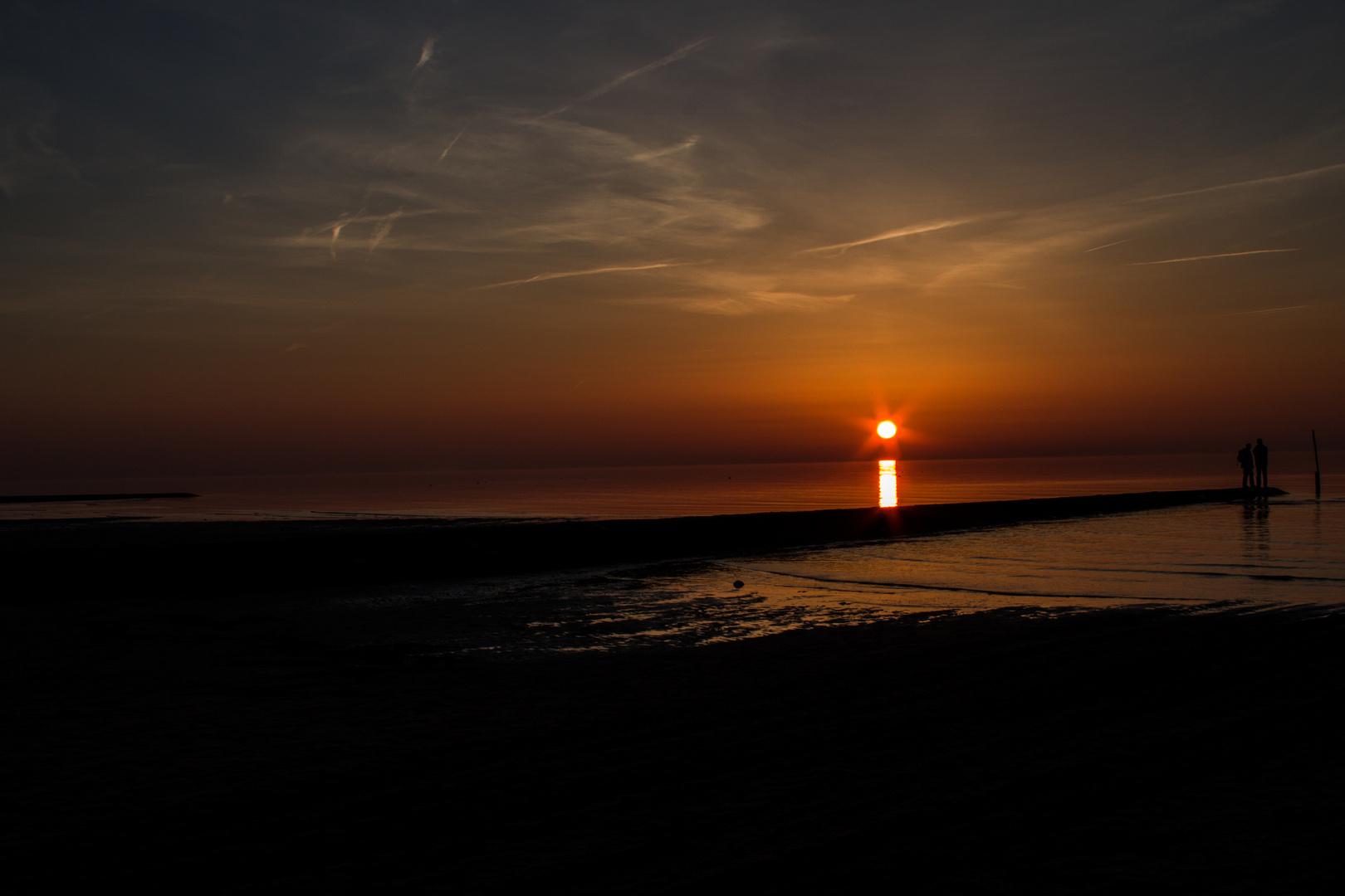 Sonnenuntergang Sahlenburg