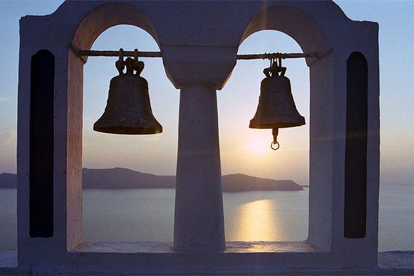Sonnenuntergang, Santorin