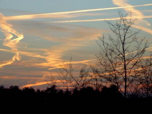 Sonnenuntergang Schleswig-Holstein