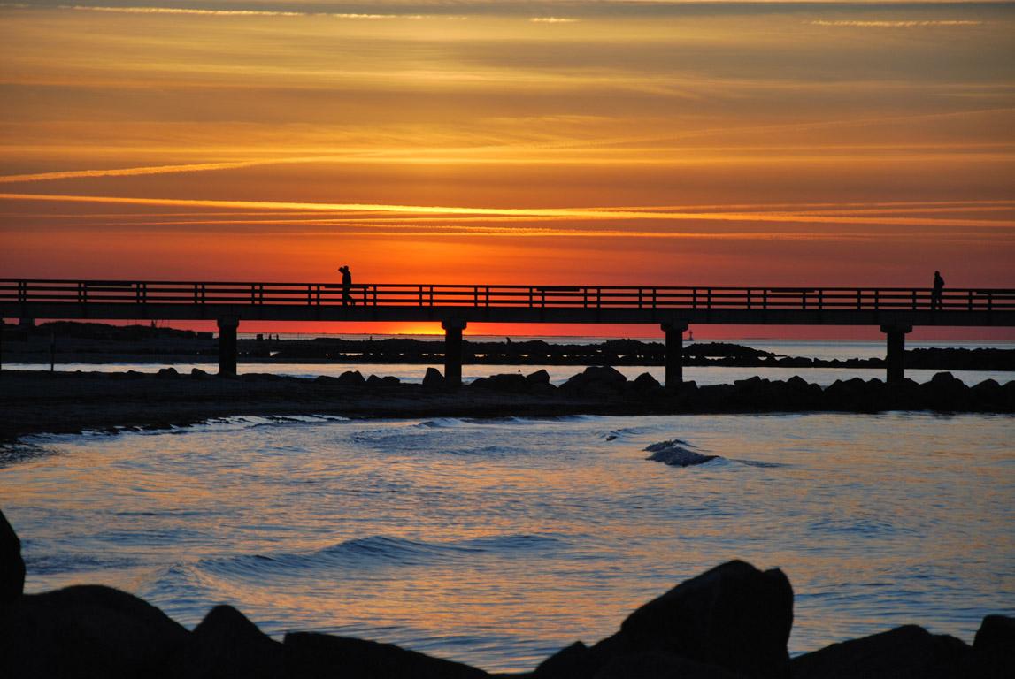 Sonnenuntergang Schönberger Strand