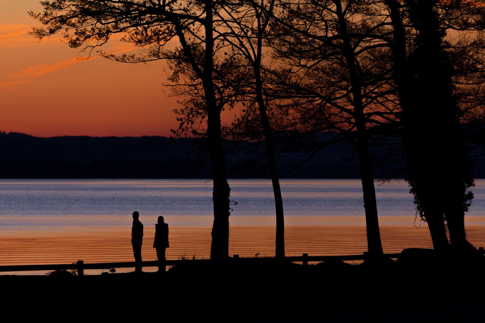 Sonnenuntergang Sempachersee CH