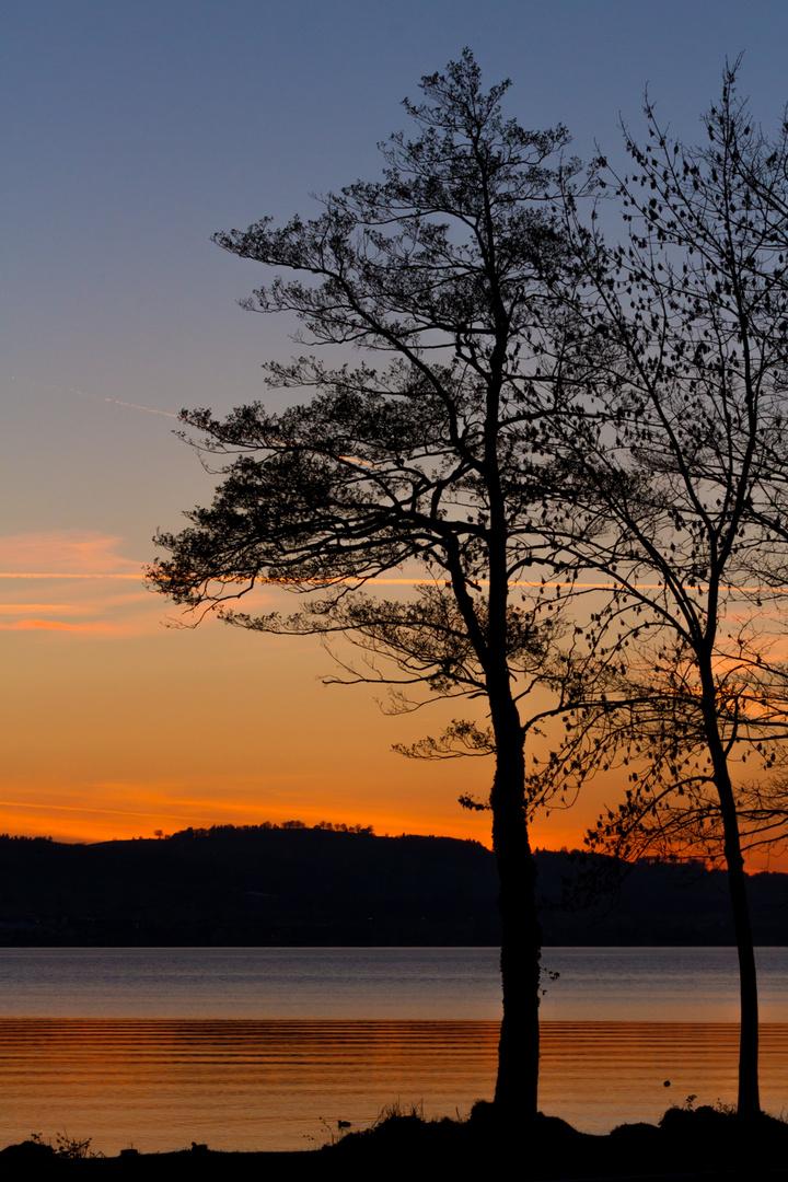 Sonnenuntergang Sempachersee CH II