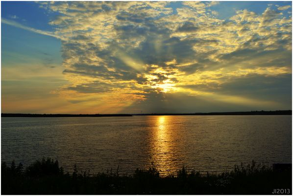 Sonnenuntergang Senftenberger See