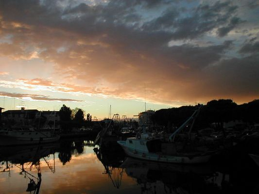 Sonnenuntergang Spanien 2004