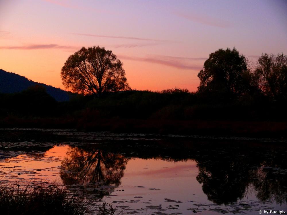 Sonnenuntergang @ Stadlersee (Zürcher Unterland - CH)