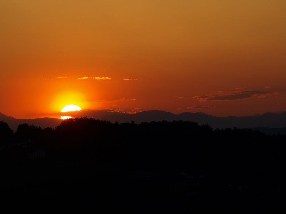 Sonnenuntergang (Südburgenland)