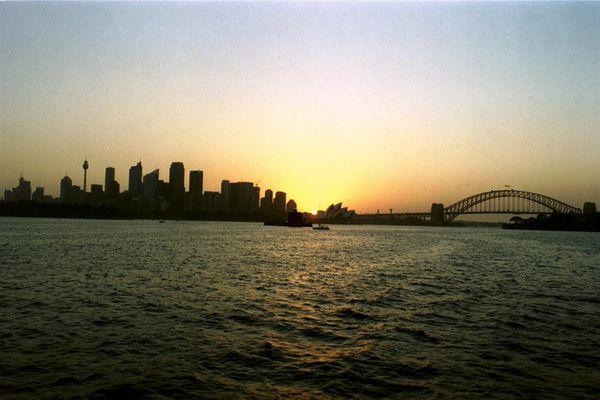 Sonnenuntergang Sydney
