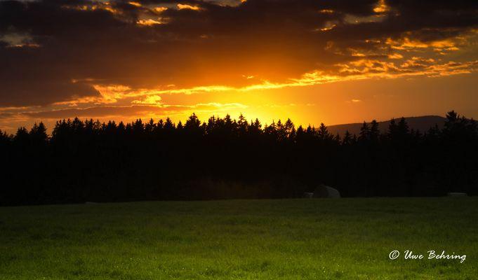 Sonnenuntergang Tanner Berg