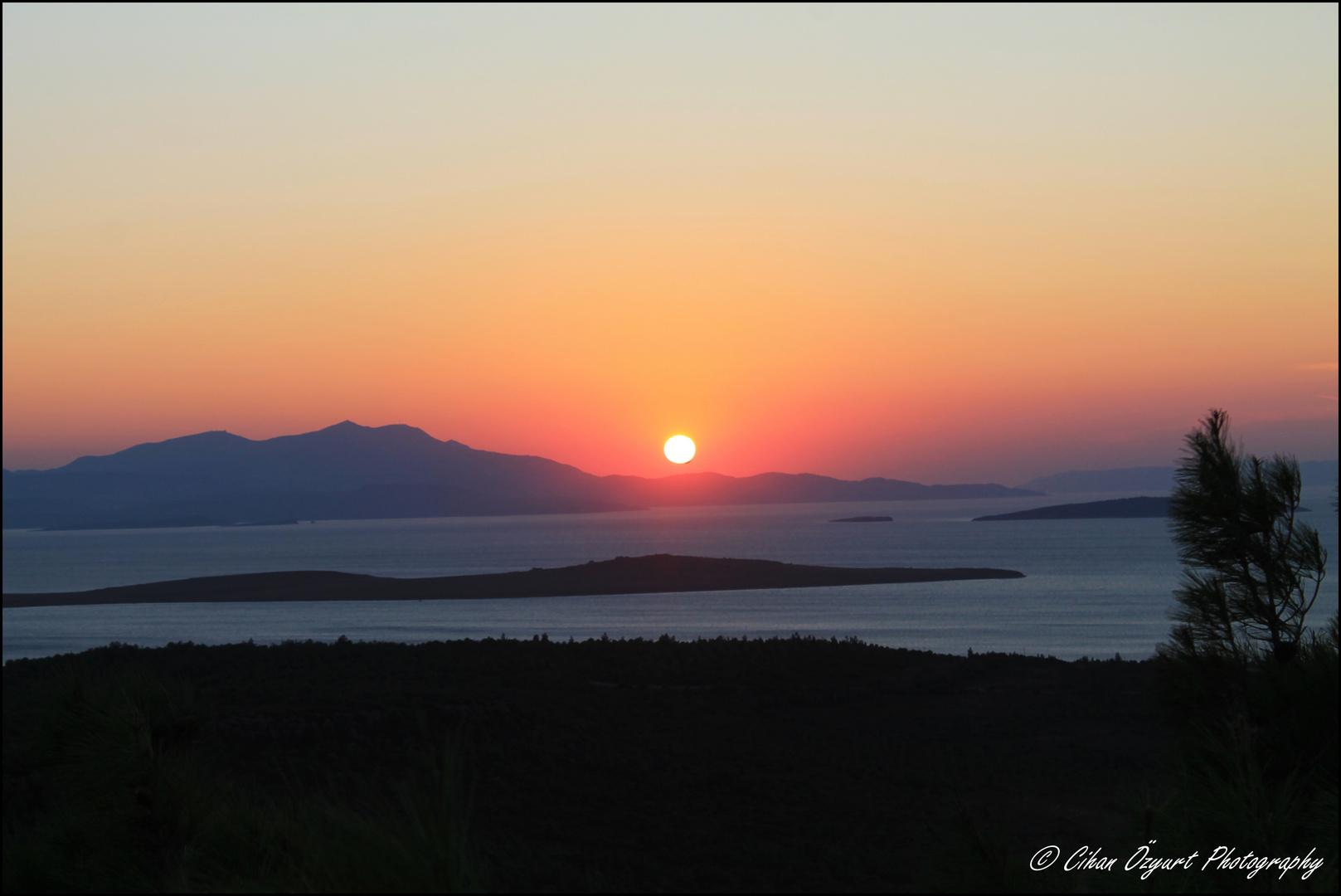 Sonnenuntergang , Teufelsberg