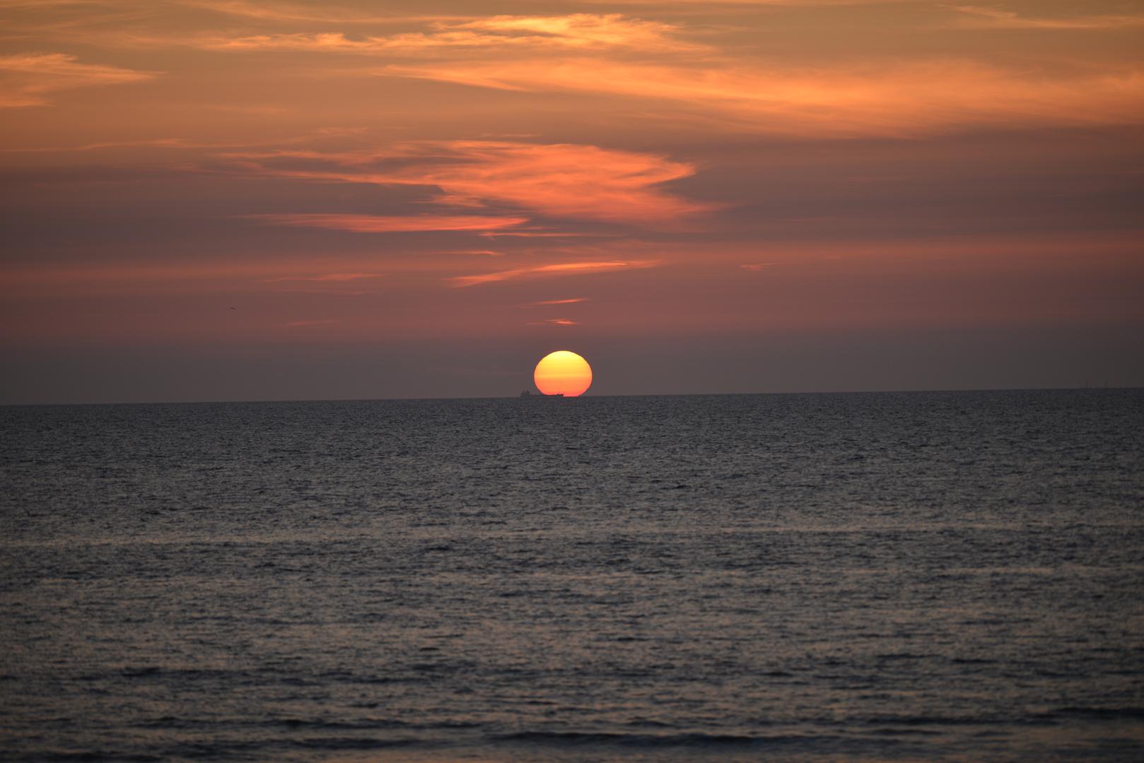 Sonnenuntergang Texel - Juli 2013