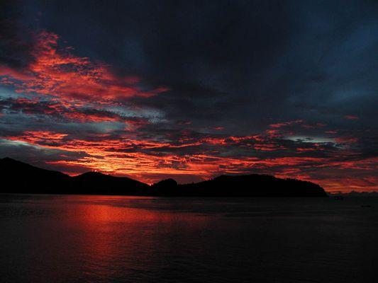 Sonnenuntergang Thailand 3