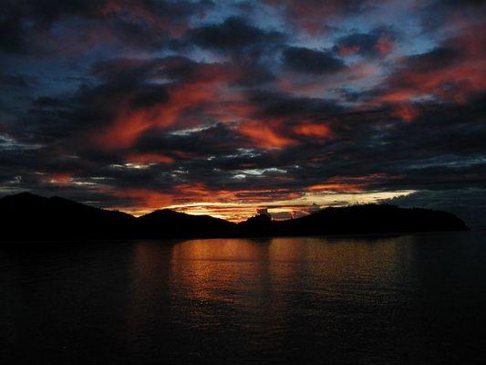 Sonnenuntergang Thailand2
