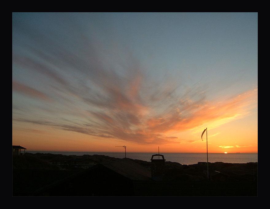 Sonnenuntergang Tornby