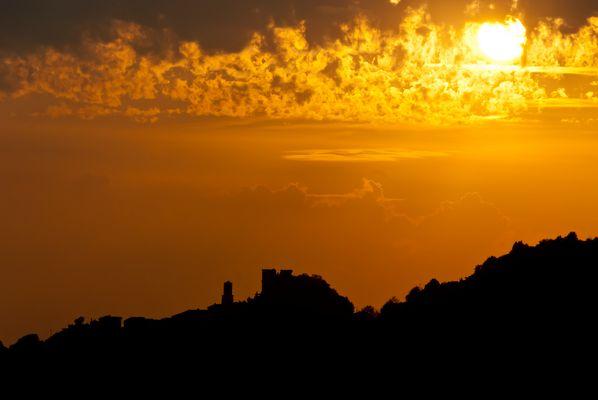 Sonnenuntergang – Toscana