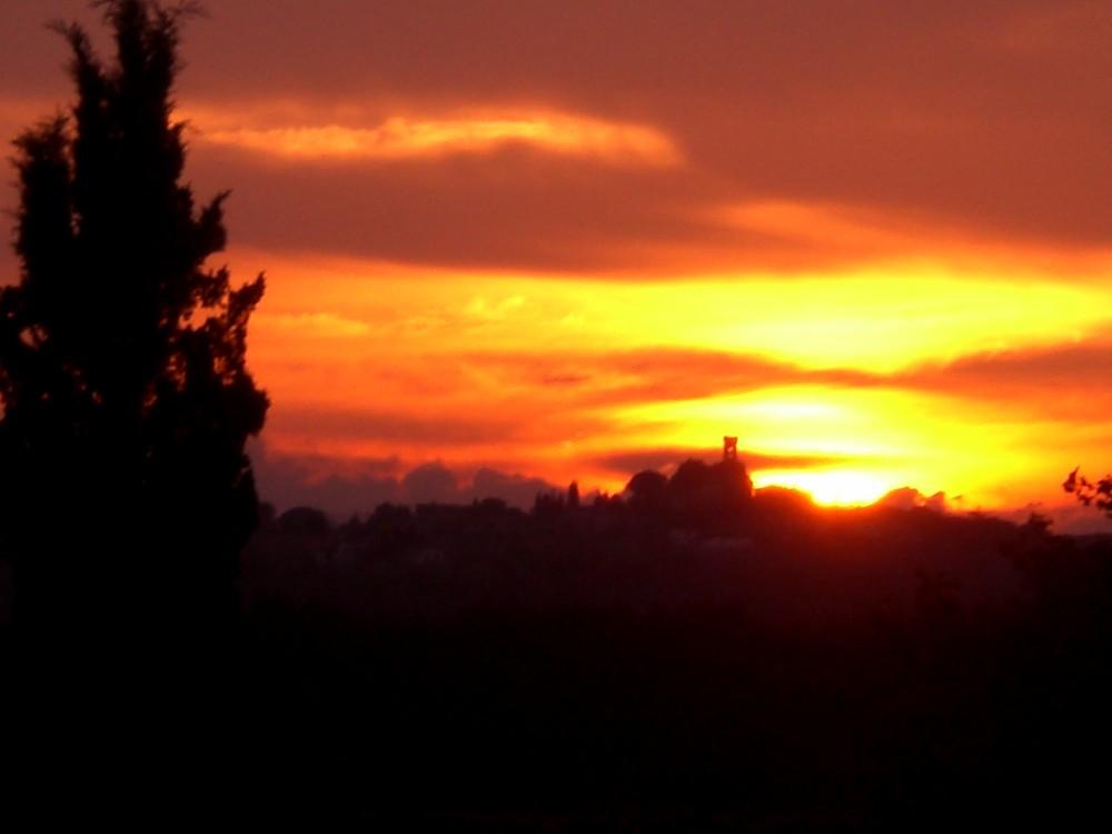 Sonnenuntergang Toskana II