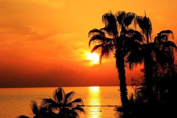 Sonnenuntergang Türkei