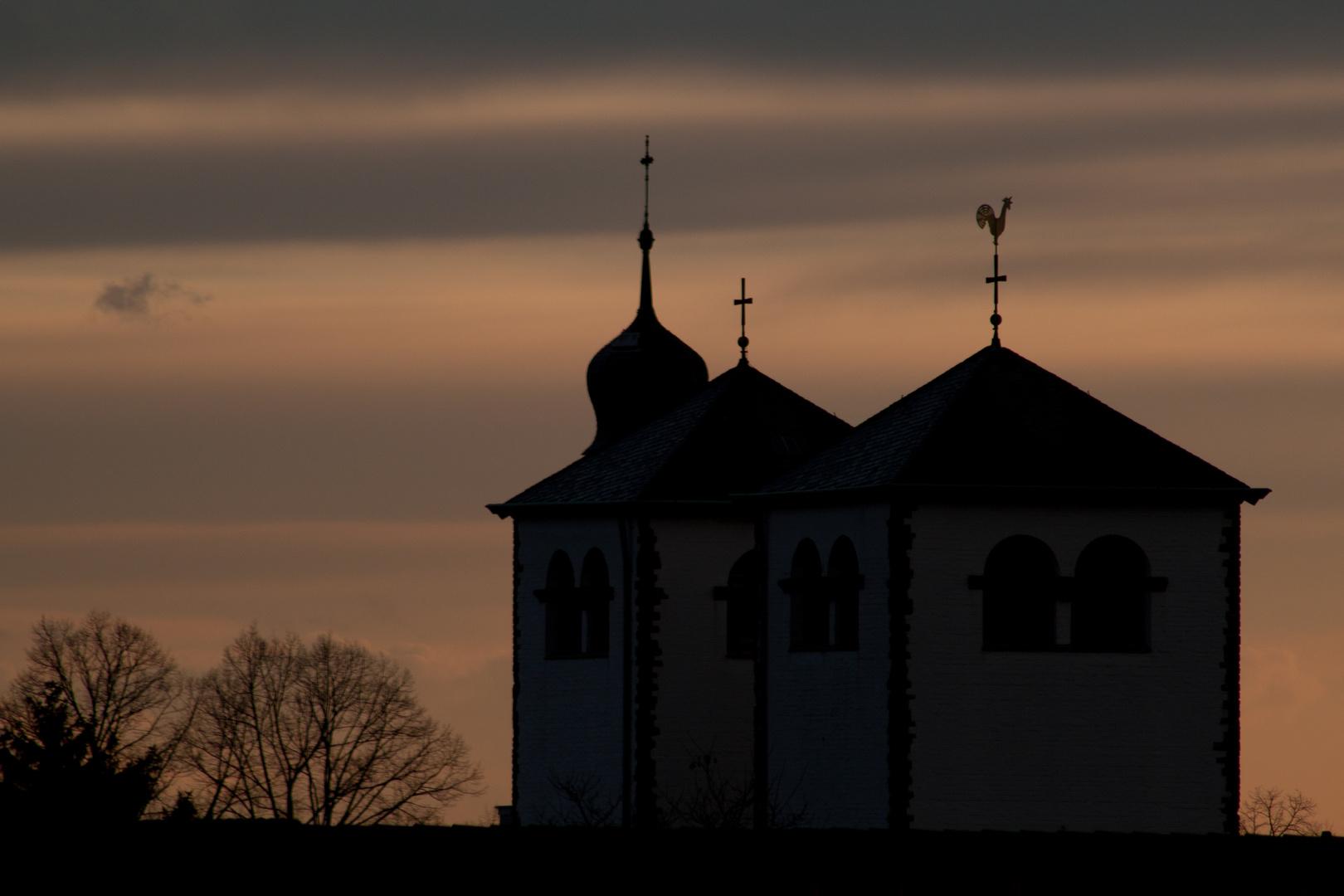 Sonnenuntergang über Dellbrück