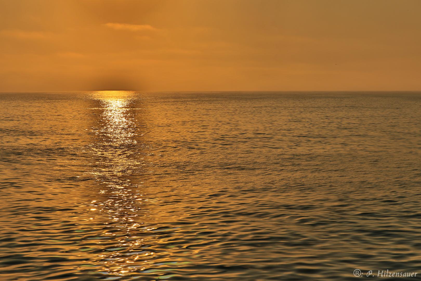 Sonnenuntergang über dem Atlantik