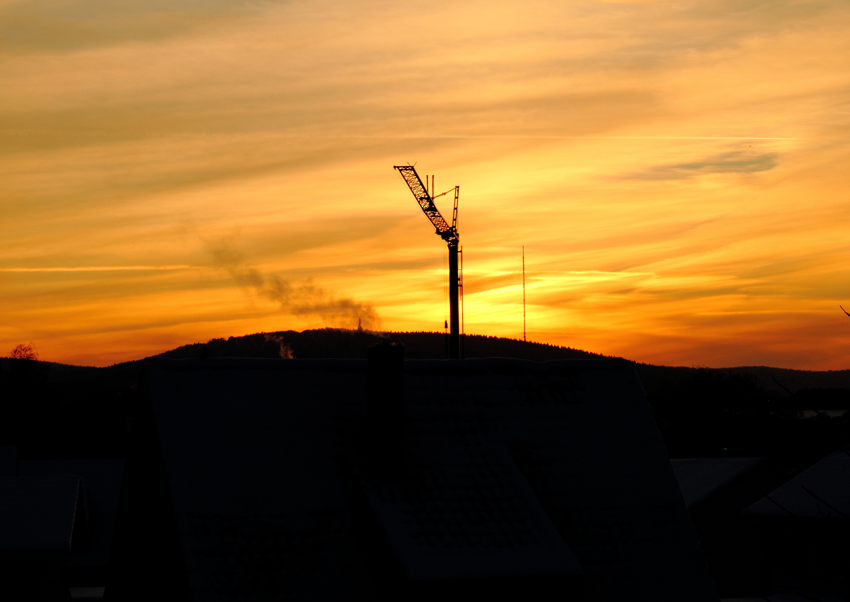 Sonnenuntergang über dem Hermann